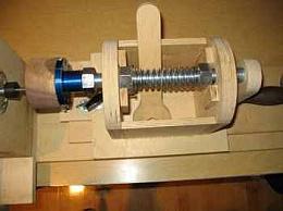 Homemade Lathe Threading Jig - HomemadeTools.net