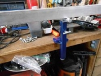 Workbench Vise Rest