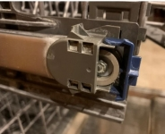 Dishwasher Rack Axle Replacement