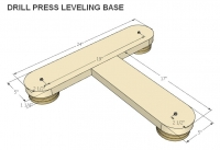 Drill Press Leveling Base