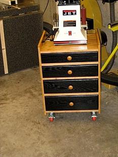 Homemade Spindle Sander Cabinet - HomemadeTools.net