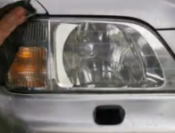 Headlight Deglazing Method