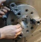 CNC Lathe Chuck Fixed Base