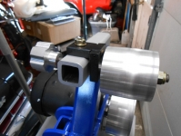 Belt Grinder Wheel Tracking Mechanism