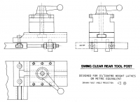 Swing Clear Rear Tool Post