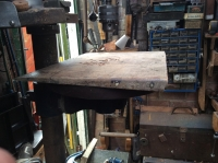 Drill Press Table Wedge
