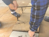 Paving Tile Lifting Method