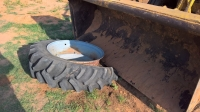 Tractor Tire Breaking Method