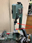 Horizontal Bandsaw Accuracy Modifications