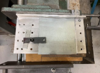 Horizontal Bandsaw Precision Cutting Fixture