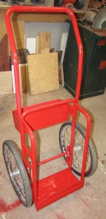Oxy-Acetylene Cart Modification