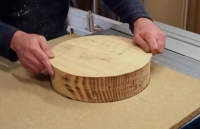 Table Saw Bowl Shaping Method