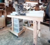 Portable Folding Workbench