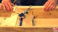 Table Saw Sled Tilting Bed
