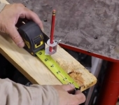 Measuring Tape Marking Attachment