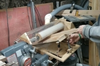 Drum Sander Dust Shroud