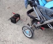 Baby Stroller Rocker Mechanism