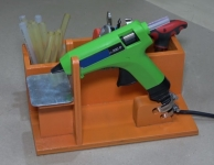 Cordless Hot Glue Gun Stand