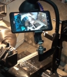 Lathe Camera Mount