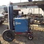 Rough Terrain Welding Cart