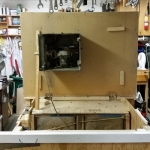 Table Saw Downdraft Table