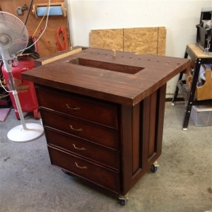 Mobile Carpenter's Bench
