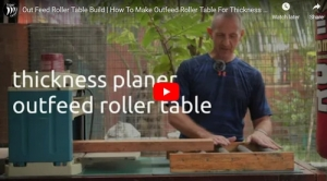 Outfeed Roller Table