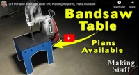 Portable Bandsaw Table