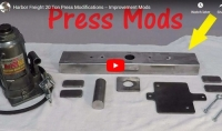 Harbor Freight Press Modifications