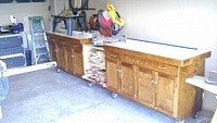 Miter Saw Stand and Cabinet