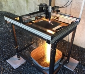 Compact CNC Plasma Table