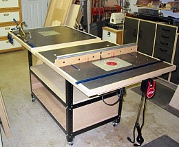 Homemade Router And Kreg Jig Table