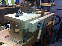 Benchtop Workbench and Vise