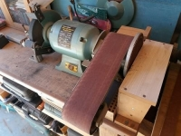 Combination Disc and Belt Sander