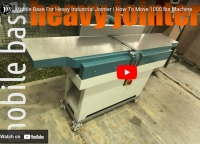 Industrial Jointer Mobile Base
