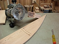 Radius Fixture for Plunge Router