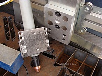 Magnetic Breakaway CNC Plasma Torch Holder