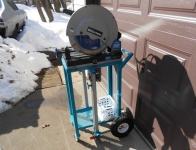 Portable Chop Saw Cart