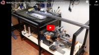 Adjustable Height Workpiece Support Drawer