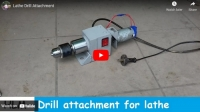Lathe Drill Attachment