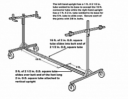 Homemade Car Rotisserie Plans Car Interior Design