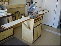 Compound Miter Saw Station