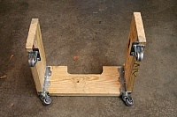 Flat-6 Cradle and Dolly