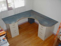 Wraparound Desk
