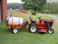 Tow-Behind Sprayer