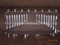 Truck Grille for Tool Storage