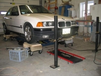 Automotive Alignment Setup