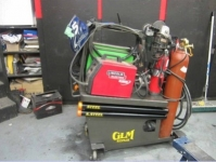 Welding Cart with TIG Cooler