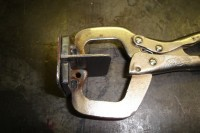Vise Grip Sheet Metal Clamp