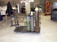 Compressed Gas Bottle Cart
